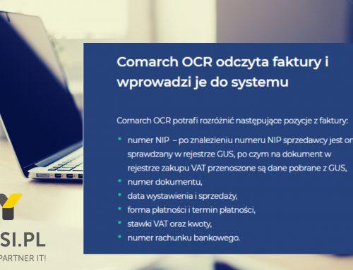 Usługa Comarch OCR