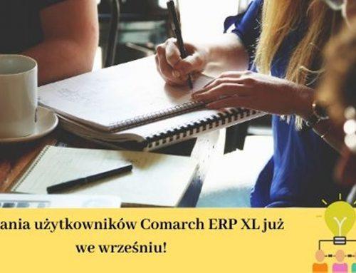 Spotkania użytkowników Comarch ERP XL 2019