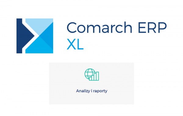 Comarch ERP XL - Analizy i raporty