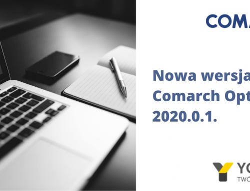 Nowa wersja Comarch ERP Optima 2020.0.1