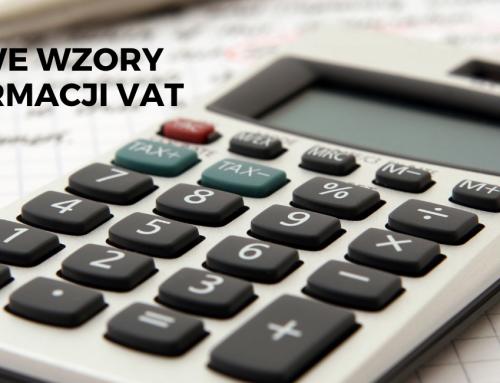 Nowe wzory informacji VAT