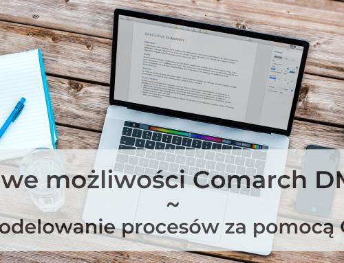Nowe możliwości Comarch DMS – modelowanie procesów za pomocą C#