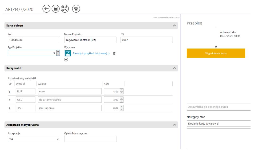 Comarch DMS Premium - nowy obieg dokumentów ze skryptu C#