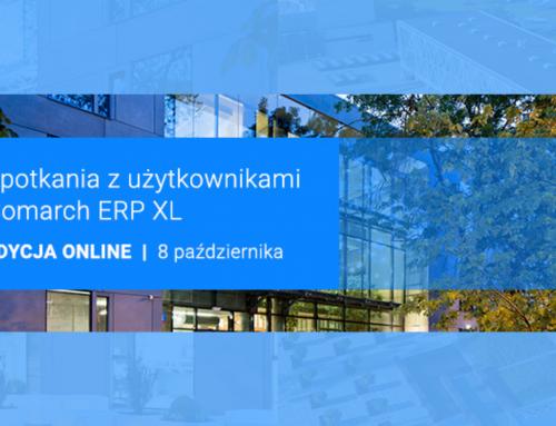 Spotkania z Użytkownikami Comarch ERP XL 2020 – edycja ONLINE